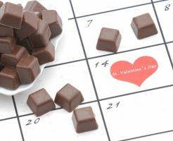 手作りのバレンタインチョコ